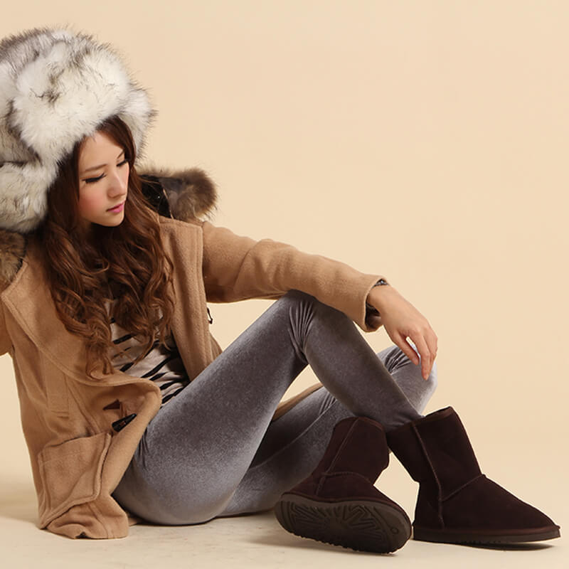 multi color women's snow winter boots fur new designer with the top quality11