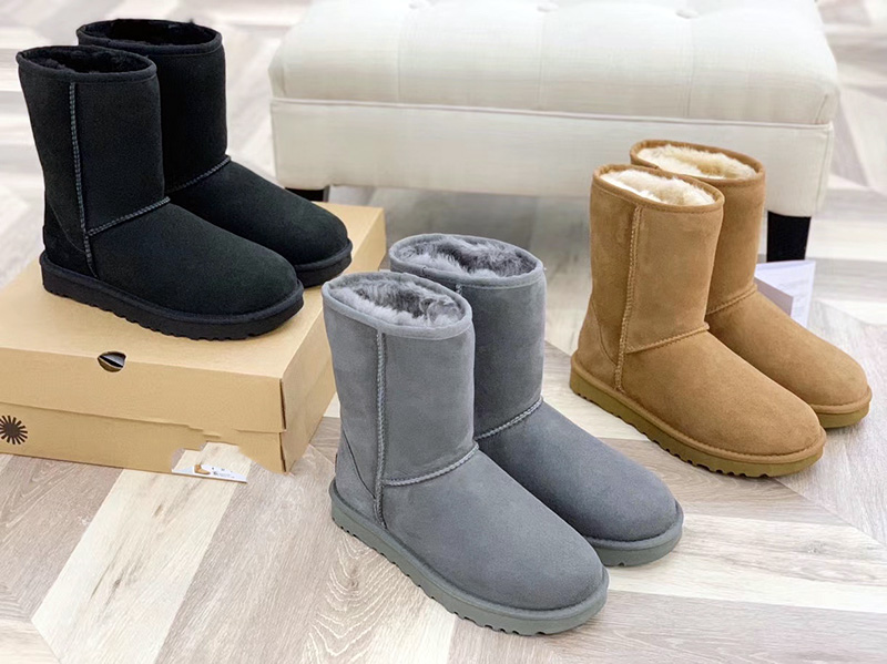 multi color women's snow winter boots fur new designer with the top quality6