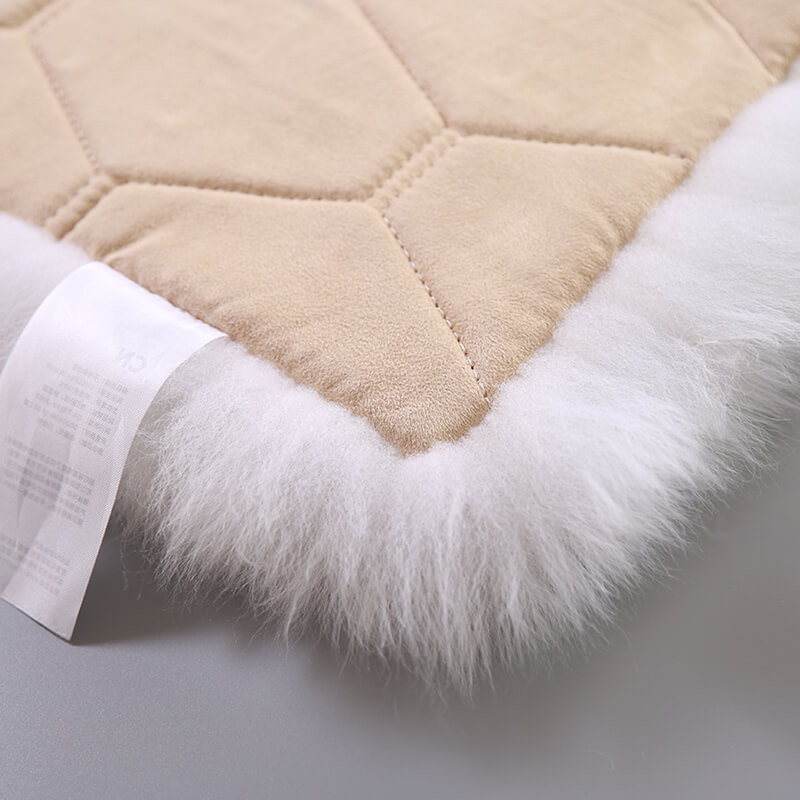 square fur sheepskin chair cover seat cushion pad super soft area rugs for living bedroom sofa13